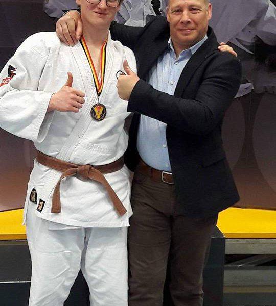 Michaël Dehing verovert brons op het BK U21