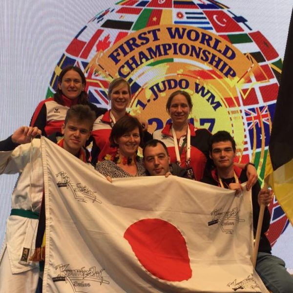 2 x Brons en een 5e plaats op het WK G-judo!!!